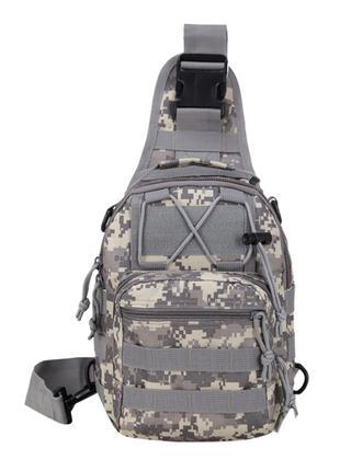 Тактическая сумка-рюкзак / пиксель
