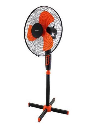 Вентилятор Domotec MS-1619, вентилятор напольный, лопастной, 3...