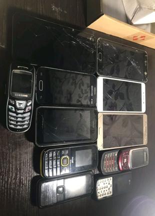 Samsung GT-S7262 J510H B520 c230 мобильный телефон