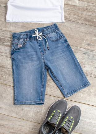 Мужские джинсовые шорты бриджи