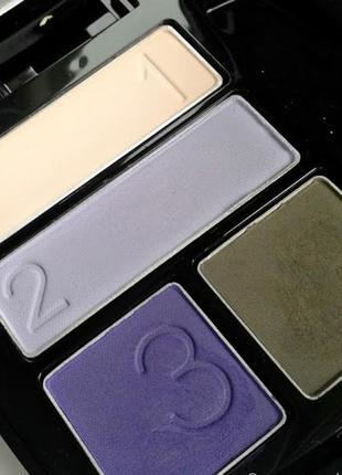 Тени для век «чудесный квартет»  pulsate / матовые фиолетовые