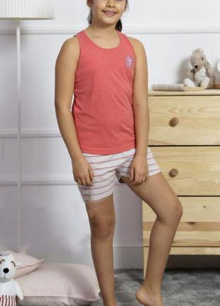 Пижама для девочки vienetta secret от 7 до 14 лет