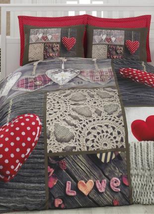 Комплект постельного белья 3D Cotton Box