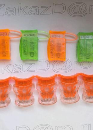 Пластиковые, антимагнитные пломбы, наклейки дубликаты пломб