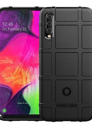 Противоударный чехол Rugged Shield для Samsung Galaxy A70 sm-a705