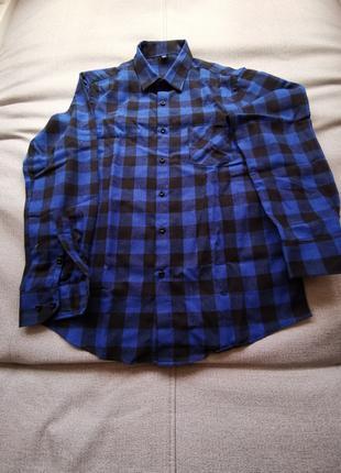 Подростковая рубашка фланель