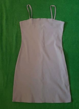 Платье женское бежевое