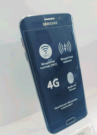 Мобильный телефон Samsung Galaxy S6 Edge 32GB G925 Black