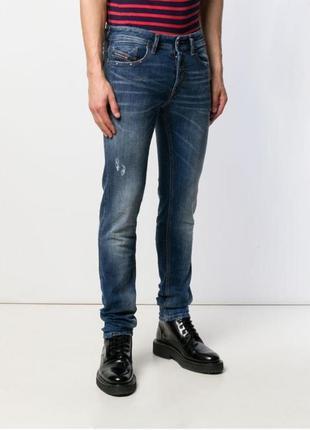 Diesel jeans джинсы скинни, skinny jeans, slim fit, мужские бр...