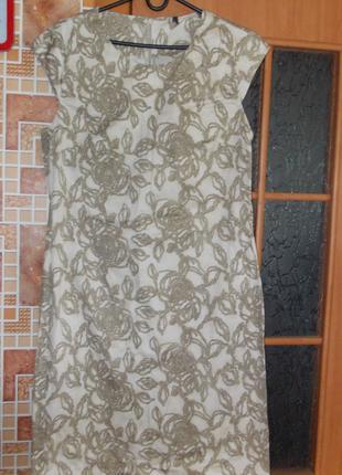 Платье 48р х\б