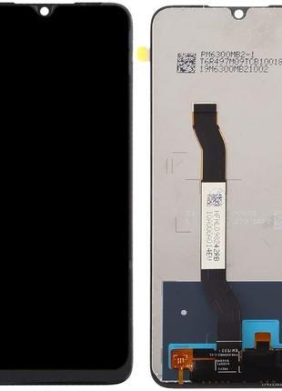 Дисплей Xiaomi Redmi Note 8T с сенсором черный