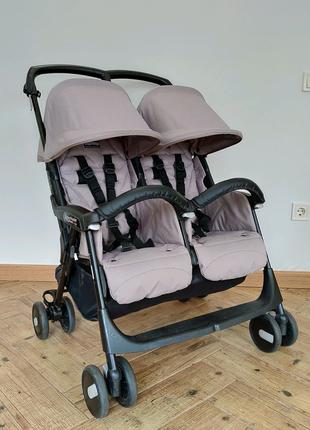Візочок (коляска) для двійні Aria shopper twin