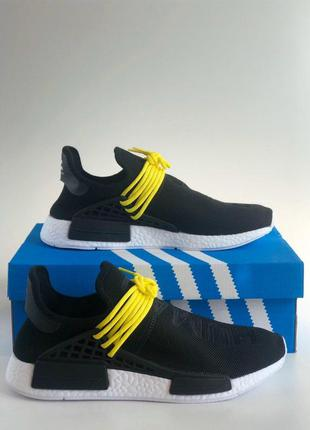 "Adidas nmd pharrell williams human race ""black&yellow"""