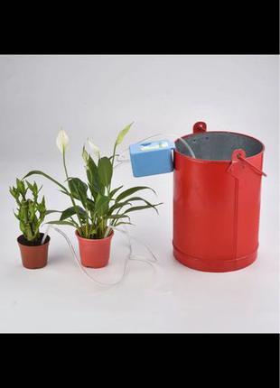 Автоматический капельный полив (орошение) вазонов