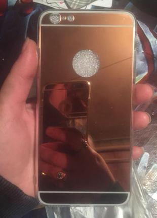 Зеркальный чехол для iPhone 6+/6s+/7+