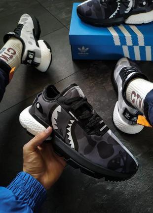 Кроссовки мужские adidas pod s3.1 bape x neighborhood  код: ad093