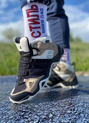 Кроссовки мужские adidas terrex ax3 beige/black