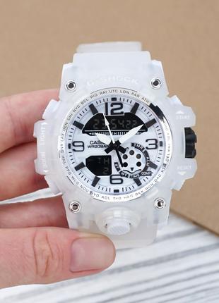 Часы наручные Casio G-Shock GG-1000.Купить спортивные белые касио