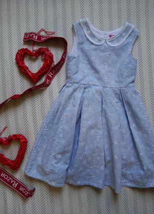 Платье летнее на девочку Young Dimension