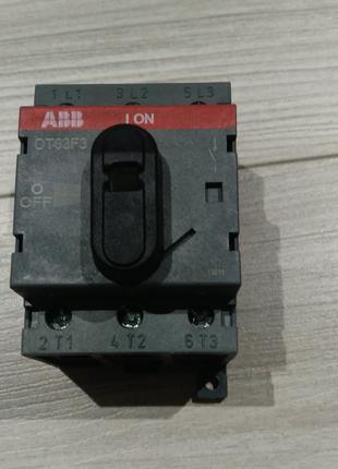 Вимикач навантаження OT63F3