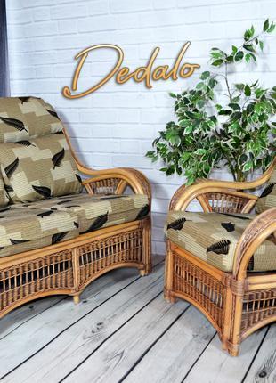 Комплект мебели из натурального ротанга (Диван+2 Кресла)