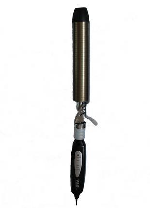 Чудо-плойка с вращающейся прижимной поверхностью V&G-238 31 мм.