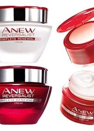 Система для кожи вокруг глаз Avon ANEW 35+ Обновление крем и баль