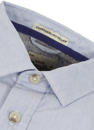 Рубашка с воротником-стойкой superdry