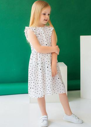 ☀️ летнее платье. сарафан для девочек 10036