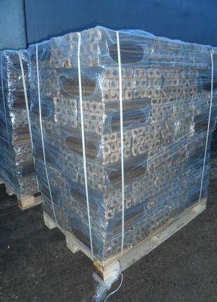Топливный древесный брикет пини-кей (состав микс)