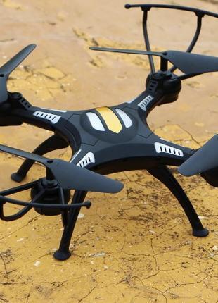 Квадрокоптер Syzygy S2B c Wi-Fi камерой и пультом (черный)