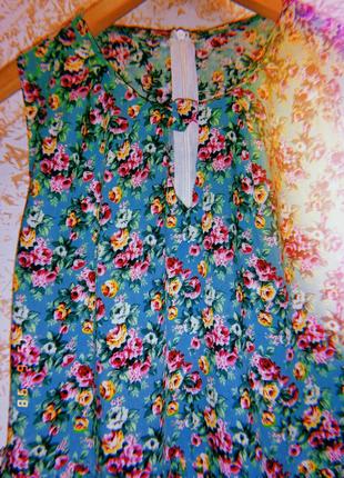 Очень красивое летнее платье с поясом