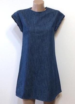 Джинсовое платье, р. xs