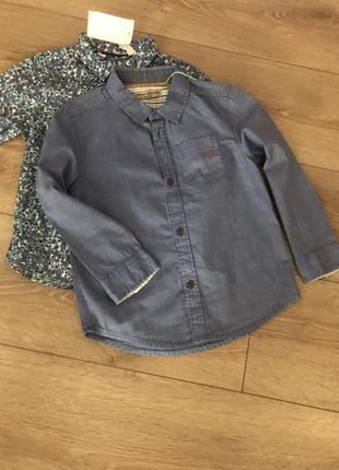 Хлопковая рубашка на длинный рукав ovs