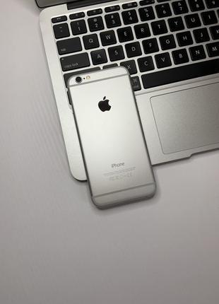 IPhone 6 16gb Silver Neverlock #474