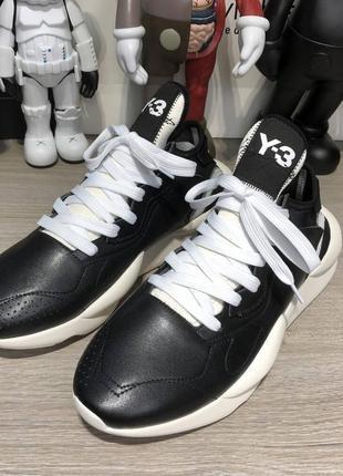 Adidas y-3 kaiwa sneakers black/white