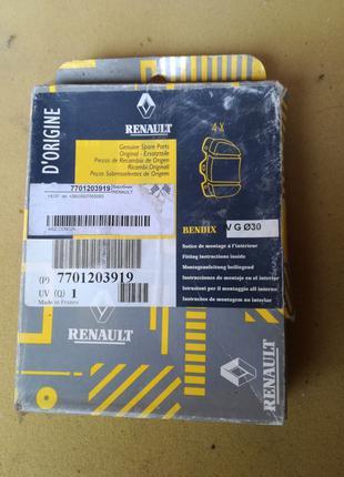 7701203919 Renault 19 R19 Колодки гальмівні задні Оригінал