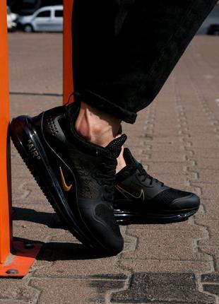 Кроссовки Nike Air Max 720 Black Orange