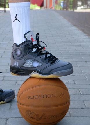 Кроссовки Nike Air Jordan V Retro X Off-White