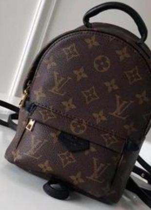 Женский рюкзак Louis Vuitton monogram mini
