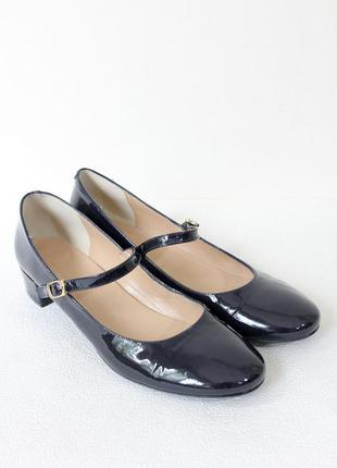 Gardenia copenhagen лаковые кожаные туфли балетки