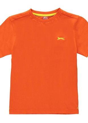 Футболка на 13лет slazenger plain t shirt junior boys
