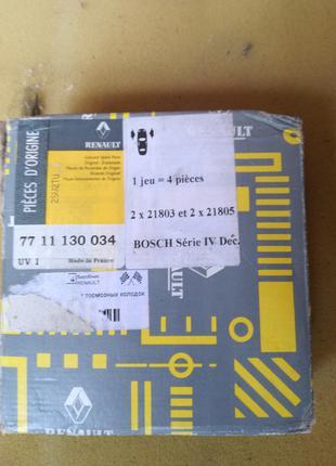 7711130034 Renault 20 19 Clio Espace 18 11 5 21 Гальмівні колодки