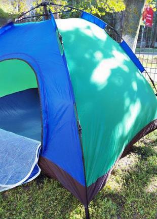 Двухместная палатка самораскладывающаяся
