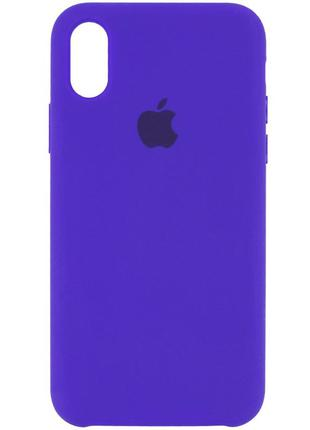 "Чехол Silicone Case (AA) для Apple iPhone XR (6.1"")"