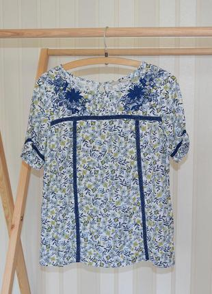 Блуза с вышивкой tu p 12