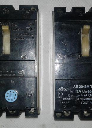Автоматические выключатели АЕ2046МП