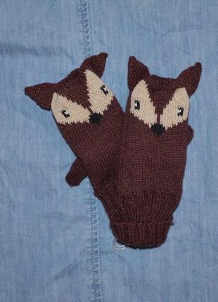 Варежки, рукавички kiabi на 2-3 года