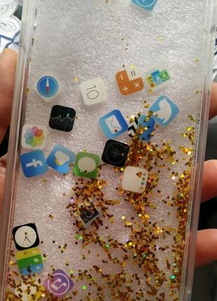 Чехол жидкий для iPhone 6s Plus и iPhone 6 Plus