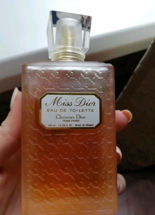 Dior- Christian Dior - Miss Dior (1947)- Туалетная вода 100 мл